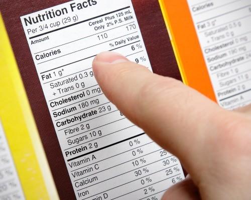 Tabla nutricional: todo lo que debes saber